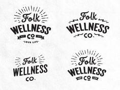 Folk Logo Concepts by Dustin Haver