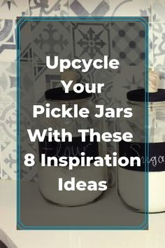 Instead of throwing away your old jars, why not upcycle them into fabulouse home decor? diy | upcycle | repurpose | diy home decor | diy upcycle | upcycled | jars | diy jars | best jars | jars