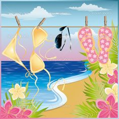 .http://www.pinterest.com/fifitrixabel/beach-art/