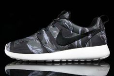 71eb432191e0 Nike Roshe Run GPX  Camo  - Black   Sail   Mercury Grey - Available