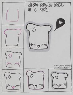 Easy Step by Step Art Drawings to Practice (9)