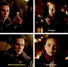 Arrow - Malcolm & Nyssa #3.12 #Season3