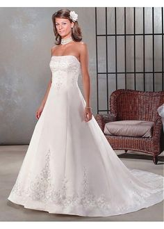 SEXY LADY LACE BRIDESMAID PARTY BALL EVENING COCKTAIL IVORY WHITE FORMAL PROM BRIDAL A-LINE SATIN WEDDING DRESS