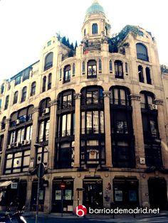 Una joya arquitectónica en la calle Caballero de Gracia www.barriosdemadrid.net