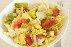 Grapefruit and Avocado Salad with Honey Coriander Vinaigrette