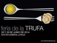 #SotoEnCameros celebrará la X #Feria de la Trufa durante los días 28 y 29 de junio de 2014. ¡#LaRiojaApetece! ;)