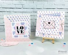 Free printable Trimcraft Valentines Papers with Craft Tutorials - Pantone colours of the year 2016