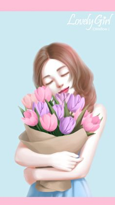 61 Ideas for quotes beautiful girly dreams Korean Illustration, Illustration Girl, Sky Anime, Cute Kawaii Girl, Lovely Girl Image, Girly M, Cute Girl Wallpaper, Digital Art Girl, Pintura Country