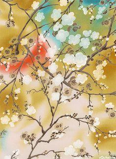 Blossom - Classic Painted Cherry Tree - Honey