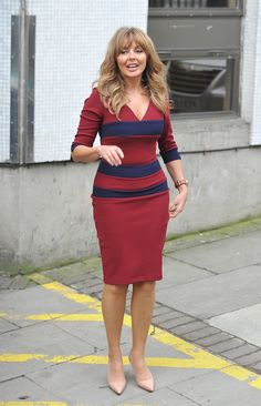 Carol Vorderman – London Studios 24.10.12