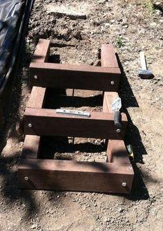 Resultado de imagen para building out over a sloped bank
