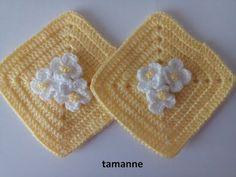 Çiçekli Bebek Battaniyesi Modeli - YouTube Crochet Flower Squares, Crochet Granny, Crochet Motif, Geox Femme, Crochet Pillow Patterns Free, Square Patterns, Hand Embroidery Designs, Crochet Projects, Knitted Hats