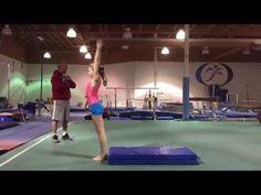More Beam Back Handspring Drills | Swing Big!