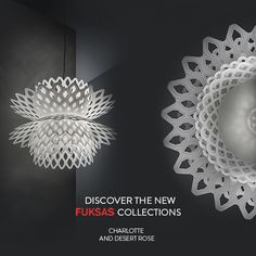 Designed by the Archistar Doriana and Massimiliano Fuksas the new collections Charlotte and Desert Rose are two #architectural volumes, carved, and penetrated by hexagonal shapes which reduce prospectively going inwards towards the internal #LED source. Discover them now: www.slamp.it