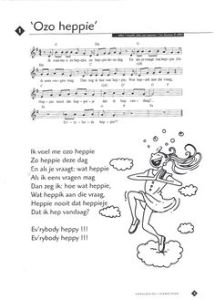 O zo heppie Lyrics And Chords, Teaching Music, Drama, Ukulele, Sheet Music, Poems, Singing, Teacher, School