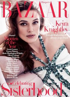 Keira Knightley by Alexi Lubormirski for Harper's Bazaar UK December 2016 cover - Chanel