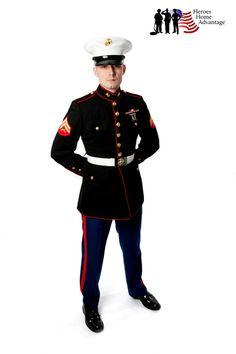 Heroes Home Advantage Program in San Tan Valley Arizona Dress Blues Marines, San Tan Valley Arizona, Usmc Clothing, Military Wedding, Art Reference Poses, Blue Dresses, Captain Hat, Wedding Inspiration, Punk