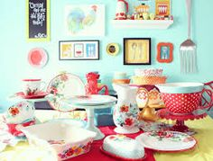 pioneer woman dishes setting table - Google Search