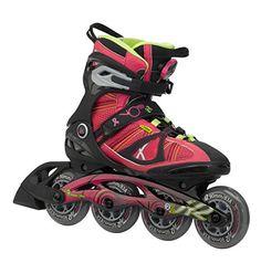 8b484947c67 Amazon.com : K2 Skate Women's VO2 90 Boa Inline Skates, 6.5, Fuchsia :  Sports & Outdoors