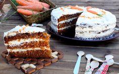 TARTA DE ZANAHORIAS, ajulis y ud trcetas, tartas, zanahoria