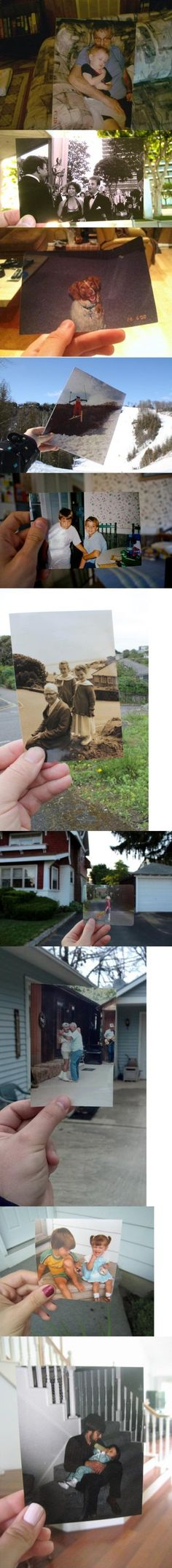 Bridging the past with today...cool idea!