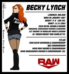 Wwe Raw Women, Becky Wwe, Royal Rumble, Becky Lynch, Ronda Rousey, Seth Rollins, Wwe Divas, Roman Reigns, Redheads