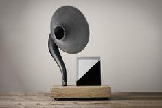 Image of Gramophone iPhone and iPad Speaker