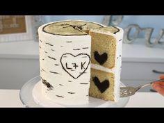 How To Make Wedding Cake, Diy Wedding Cake, Wedding Stuff, Dream Wedding, Wedding Ideas, Wedding Cake Frosting, Fondant Wedding Cakes, Birch Wedding Cakes, Hobbit Cake