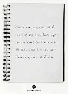 Gary Allan - Every Storm (Runs Out Of Rain)