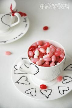 sooo cute...and all you need is a sharpie and jelly beans ~ clever!