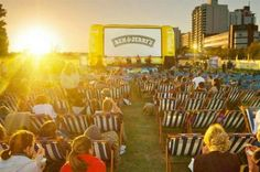 Ice cream brand Ben & Jerry's has announced plans to host a three-day cinema event, with all entertainment powered by environmentally friendly hybrid power.