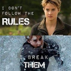 That's why she's also Insurgent