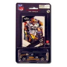 2009 Green Dodge Charger AJ Hawk Green Bay Packers Diecast by Press Pass  $6.99
