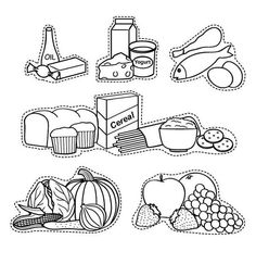 Food Pyramid Coloring Page . 24 Food Pyramid Coloring Page . Food Pyramid with Healthy and Fresh Food Coloring Pages Food Coloring Pages, Free Printable Coloring Pages, Coloring Pages For Kids, Coloring Books, Kids Coloring, Coloring Sheets, Free Coloring, Food Pyramid Kids, Boite A Lunch