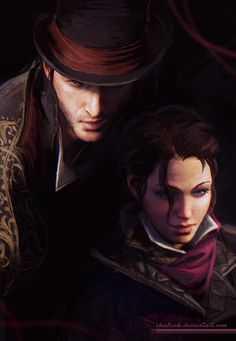More of Assassin's Creed Syndicate twins! I'll stop drawing them eventually (or somebody might have to stop me XD) DA page link - http://shalizeh.deviantart.com/art/Jacob-and-Evie-576735613