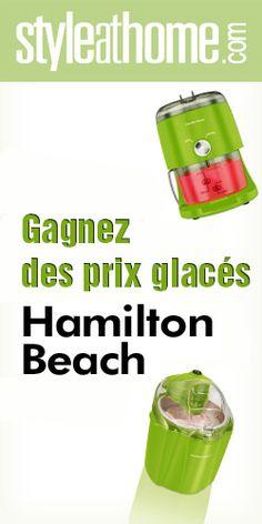 Gagnez une sorbetière et autre prix glacé. Fin le 31 aout.  http://rienquedugratuit.ca/concours/sorbetiere-hamilton-beach/
