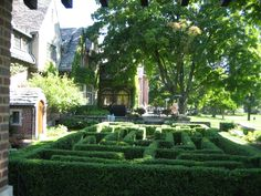 Riverbend in Kohler, WI - the beautiful gardens and terrace