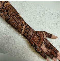 mehndi art by kiran Henna Hand Designs, Dulhan Mehndi Designs, Mehndi Designs Finger, Khafif Mehndi Design, Latest Bridal Mehndi Designs, Mehndi Designs Book, Stylish Mehndi Designs, Mehndi Designs For Beginners, Mehndi Design Pictures