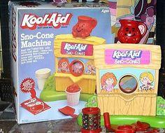 Kool Aid Sno Cone Machine