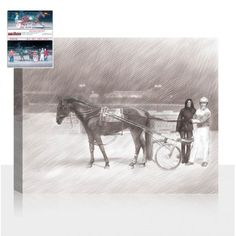 Interesting pencil sketch for your wall by snappy canvas. Photo Sketch, Photo Canvas, Pet Portraits, Pencil, Sketches, Horses, Pets, Wall, Animals