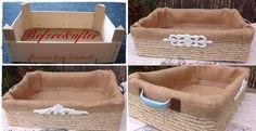 Un rincón de mi: DIY----Caja de fresas--- un cambio total: