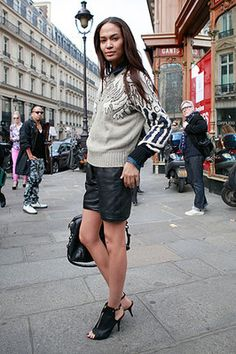 Street Style: Paris. Photo by Anthea Simms
