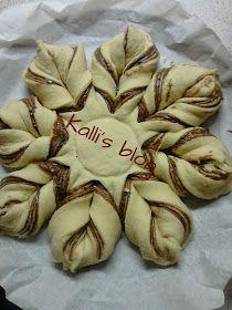 Kalli's blog: Ταχινόψωμο Greek Sweets, Oreo Cupcakes, Greek Recipes, Vegan Desserts, Food To Make, Stuffed Mushrooms, Deserts, Vegetables, Eat