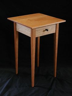 Cherry End Table, handmade in Vermont
