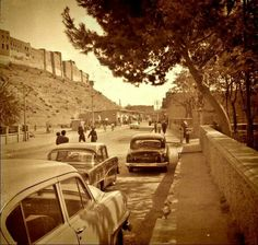 Old pictures of erbil citadel