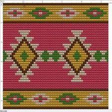 Discover thousands of images about Pamela Jones Tapestry Crochet Patterns, Crochet Motifs, Bead Loom Patterns, Crochet Stitches Patterns, Crochet Chart, Beading Patterns, Stitch Patterns, Knitting Patterns, Knit Crochet