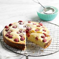 Lemon-Raspberry Coffee Cake