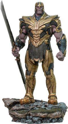 Marvel Thanos Legacy Replica Statue by Iron Studios Lego Marvel, Marvel Avengers, Thanos Marvel, Marvel Villains, Marvel Art, Marvel Heroes, Marvel Characters, Captain America Statue, Dbz
