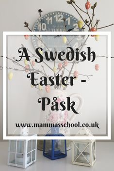 Discover what a Swedish Easter (Påsk) is like and how it is celebrated here in Sweden. What is eaten, how we decorate, and what the Easter eggs are like. School Holiday Activities, Easter Activities For Kids, Crafts For Kids, Swedish Traditions, Easter Traditions, Swedish Christmas, Christmas Post, Easter Crafts, Easter Ideas