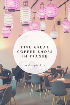 Five great coffee shops in Prague.